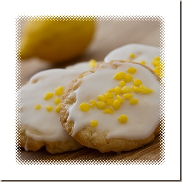 almond & lemon biscuits crunch