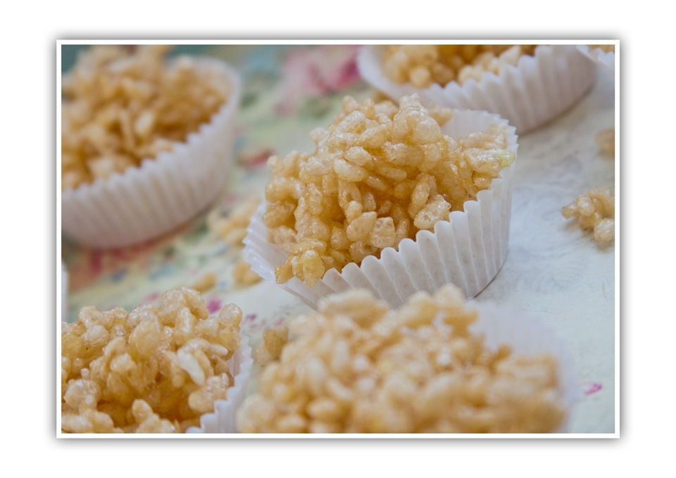 Rice Crispy Cakes Without Golden Syrup