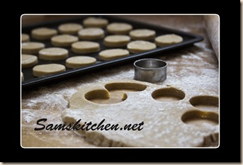 Cappuccino biscuit tray