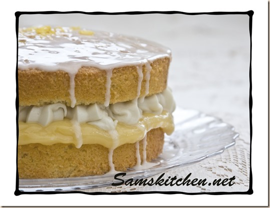 Coconut & Lemon cake