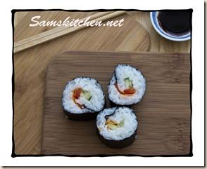Sushi above