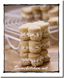 Lemon & Elderflower biscuits
