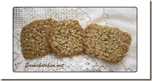 Oat coconut crunchies large