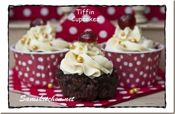 Tiffin cupcakes