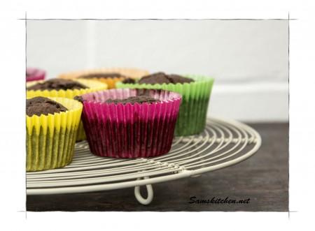Choc carrot cupcakes 5