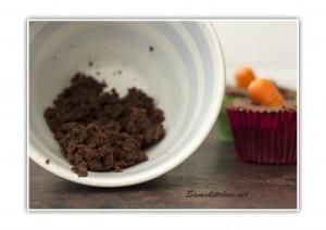 Choc carrot cupcakes 8