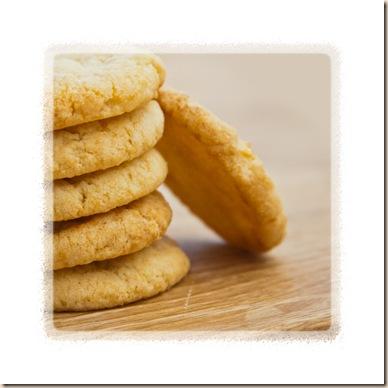 almond & lemon biscuits