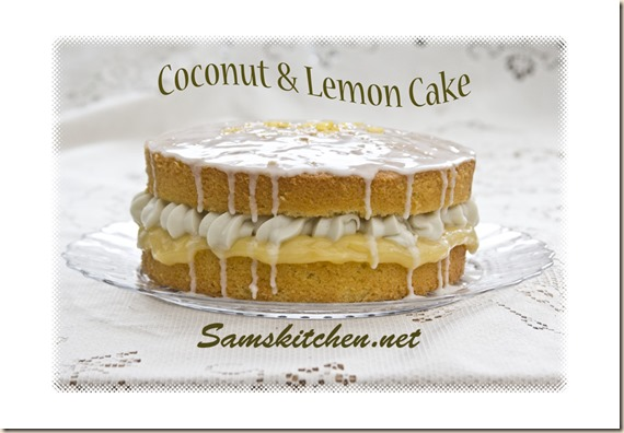 Coconut and Lemon Cake2