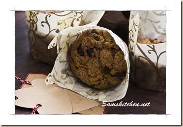 Christmas muffins no glaze