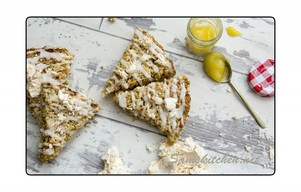 Lemon Meringue Flapjack above2