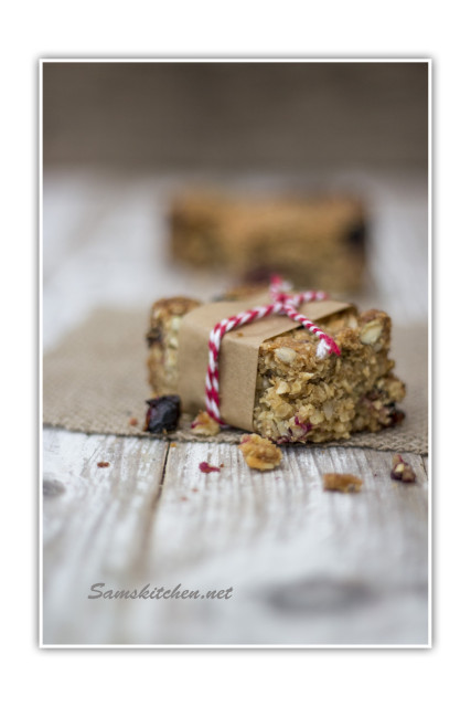 Blackcurrant bar wrapped