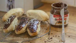 Nutella Iced Buns 2